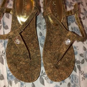 Great condition sandals lauren Ralph